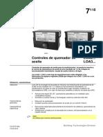 Controles de Quemador de ACEITE LOA2 Y LOA 3