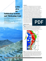 Central Andean Ore Deposits Linked to Subducci