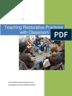 Teaching Restorative Practices in the Classroom 7 lesson Curriculum.pdf