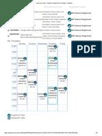 Timetable Sem 2 2016