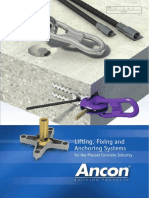 Ancon's Precast Concrete Accessories Manual