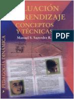 17.- Saavedra R, M. (2001). Evaluación Del Aprendizaje Conceptos y Técnicas