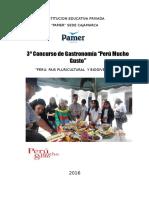 Bases Del Concurso Gastronómico