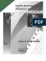 20.- Zarzar Charur, C. (2005). La Evaluación Del Proceso de Enseñanza-Aprendizaje