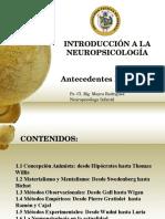 Antecedentes Históricos Neuropsicología