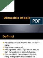 Dematitis Atopik