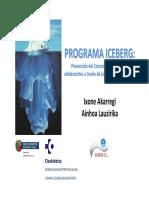 Programa Iceberg. Prevención del consumo de alcohol en adolescentes a través de la educación emocional