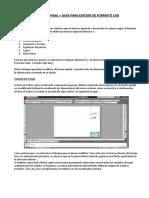 C119 - Proyecto Final - Tutorial CAD y Códigos Documentos-V2