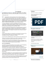 3. Isenção a Empresas Não Causou Problema Fiscal, Afirma Governo Do Rio _ Valor Econômico