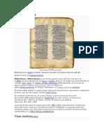 Biblia Hebrea