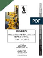 Hawkjaw Jr. Manual 65K-950JR Serial Numbers 72 to 223