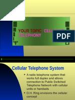 Mobile Telephony