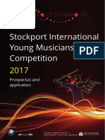Stockport International Young Musicians Competition 2017
