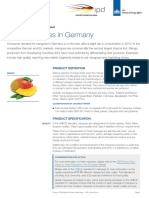 Mangoes in Germany