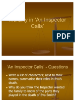 Morality in 'An Inspector Calls'