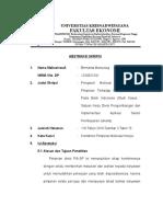 Contoh Penulisan Abstraksi S1 - Universitas Krisnadwipayana