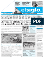 Edición Impresa Elsiglo 08-12-2016