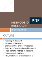 Methods of Research (Calderon & Gonzales)