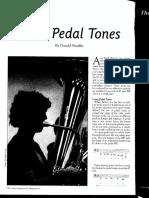 pedal tones