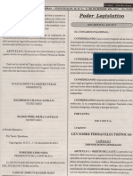 Ley Sobre Firmas Electronicas (3,19mb)