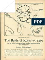 HISTORY TODAY the Battle of Kossovo