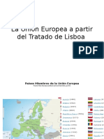La Uni n Europea a Partir Del Tratado de Lisboa