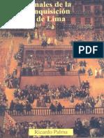 Ricardo Palma - Anales de la Inquisicion de Lima.pdf