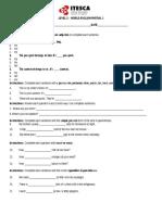 1st. Partial Exam Level 2 (2)