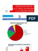 HEMODERIVADOS Y REACCIONES ADVERSAS A LA TRANSFUSIÓN.pptx