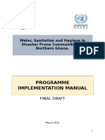 WASH Programme Document