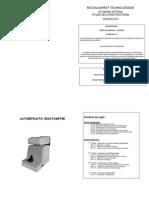 Etude constructions Bac techno STI Génie optique métropole
