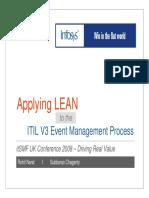 LeanITIL EventManagement