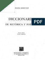 Diccionario de Retorica y Poetica