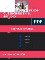 Factores Que Inciden en El Estudio Final