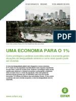 Informe Oxfam 210 - A Economia Para o Um Por Cento_Jan-16