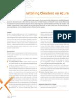 Xpirit Magazine 2 Installing Cloudera on Azure