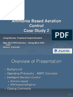 Metro PWO Seminar May 23, 2012 Ammonia Based Aeration Control Case Study 2