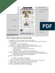 The Fundamentals of a News Paper