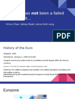 the euro has not been a failed experiment   -2