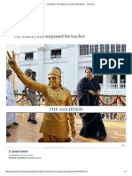 Jayalalithaa - The Student Who Surpassed the Teacher - The Hindu