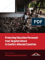 Protecting Education Personnel from Targeted Attack in Conflict-Affected Countries