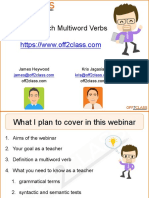 Phrasal Verbs Webinar Italki Shared PDF