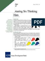 Wearing Six Thinking Hats Copy
