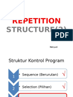 6. Repetition Structure - While End