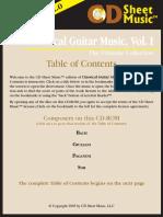 Classical Guitar Music Vol1