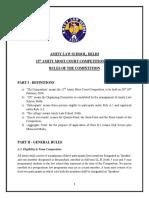 Anmc Rules 2016