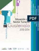 Situacion Del Sector Turismo en Guatemala 2013-2014
