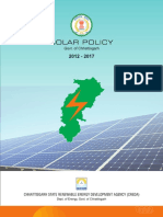 Chhattisgarh Solar Power Policy