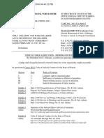 Judicial Disqualification - Memorandum of Law