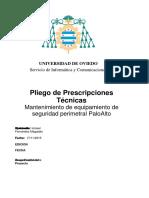 Pa 2016-07 Prescripciones Técnicas Mantenimiento Palo-Alto